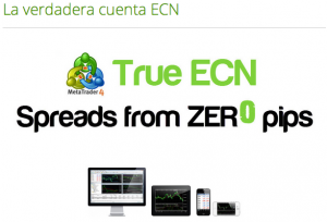 Broker ICmarkets ECN
